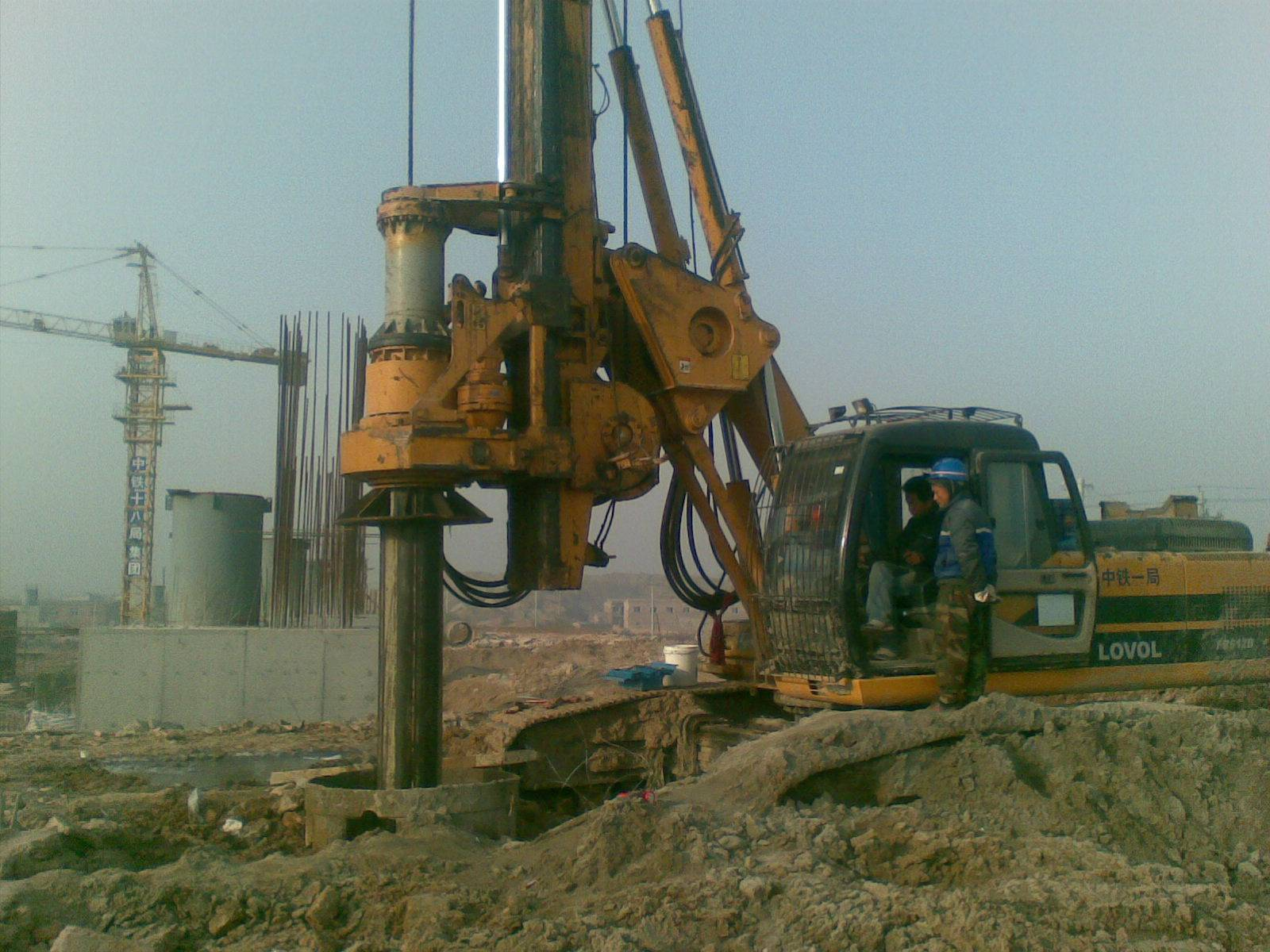 drilling boring machine