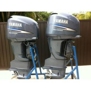 2004 f225 yamaha 225hp 225 hp four stroke twin pair for 225 yamaha 4 stroke