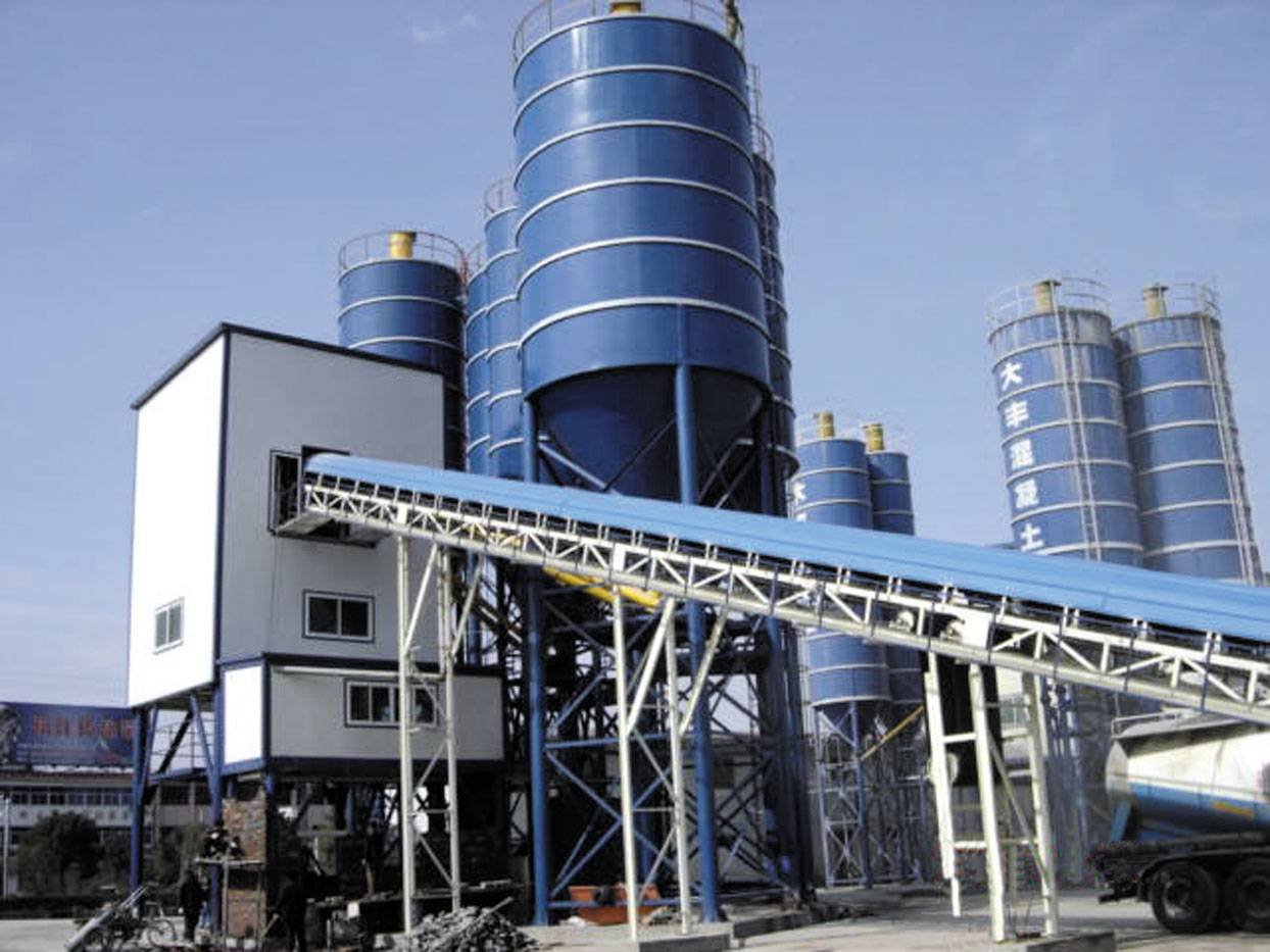 Cement Ready Mix Plant : Concrete batching plants systems ready mix